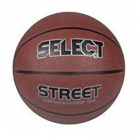 Мяч баскетбольный Select Basket Street Brown-Black-Silver 205770-218