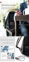 Городской рюкзак XD Design Bobby Anti-theft Backpack 15.6'' Grey P705.542